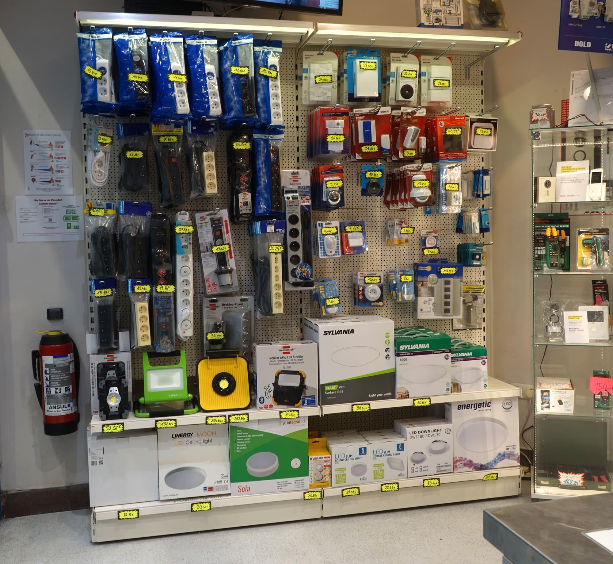 Anebel Materiel electrique Bruxelles